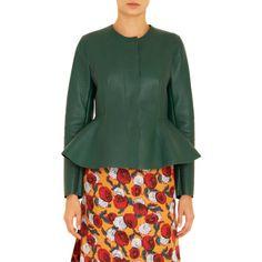 Marni Long SleevePeplum Jacket Sale up to 70% off at Barneyswarehouse.com