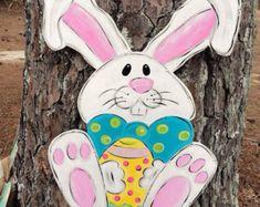Easter door hangereaster egg door by Furnitureflipalabama on Etsy