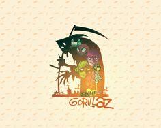Wallpaper Gorrilaz