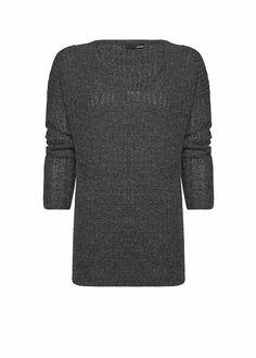 MANGO - Mohair wool oversize jumper