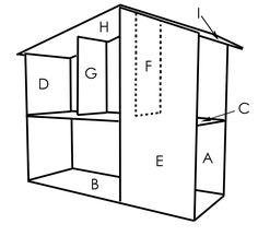 dollhouses to build | Sutton Grace: mod doll house plans