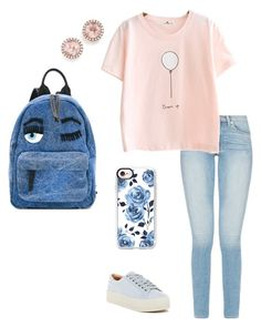 Casual Day by girlwtheredballoon on Polyvore featuring polyvore, fashion, style, Marc Fisher LTD, Chiara Ferragni, Dana Rebecca Designs, Casetify and clothing
