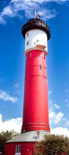 Wangerooge Lighthouse, Frisian Islands, North Sea