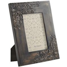 Etched Wood Frame. I think this is an absolutely beautiful frame