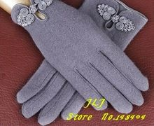 Бесплатная доставка New2015 мода шерсть перчатки с китайский узел женщин зима теплая варежки с 4 цвета высокое качество! подарок(China (Mainland))