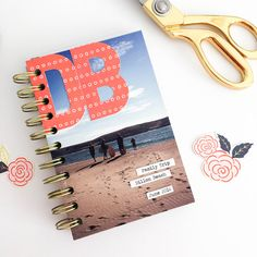 Beach Album by Chantalle McDaniel for We R Memory Keepers
