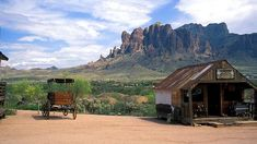 Located in the foothills of the Superstition Mountains, Goldfield is one of the most popular and touristy ghost towns in the southwest. The mining town dates back to the 1890s and it was abandoned after the gold vein faulted in the mid-1920. (Flickr/LASZLO ILYES)