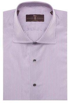 Robert Talbott Tailored Fit Stripe Dress Shirt Mens Big And Tall Shirts, Striped Dress, Shirt Dress, Fitness, Mens Tops, Fashion, Moda, Striped Dress Outfit, Shirtdress