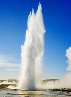 Iceland-Geysir Hot Springs