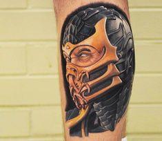 Scorpion tattoo by Ben Thomas