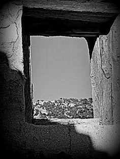 una finestra vella