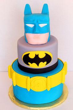 fondant death Batman Cake