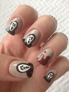Scream Nail Art!