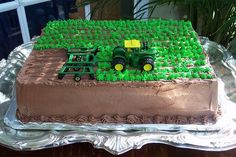 Tractor/field cake...for my nephew