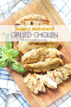 This is the best grilled chicken recipe! It's easy, quick, moist and delicious. Uses fresh or frozen chicken breasts. Paired with rosemary roasted potatoes, it makes the perfect summertime meal. Best Grill Recipes, Summer Grilling Recipes, Summer Dessert Recipes, Barbecue Recipes, Cooking Recipes, Bbq, Drink Recipes, Best Grilled Chicken Recipe, Best Chicken Recipes