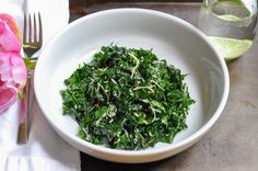 Lacinato kale salad. EASY, HEALTHY & GOOD. Can be made a day ahead. Gets better as it sits.