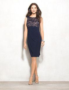 db Signature Sadie Maritime Blue Lace Dress