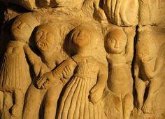La cave aux sculptures à Denezé-sous-Doué