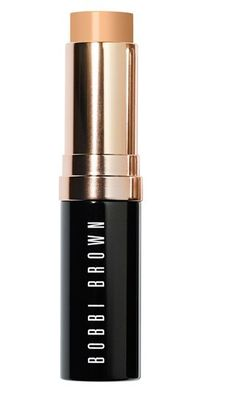 """Bobbi Brown Skin Foundation Stick $44  """"My all-time favorite bridal base,"""" says Hannah. """"It covers and conceals without being too heavy and it doesn't contain an SPF, so no risk of looking ashy or flaring under the photographer's flash."""""""