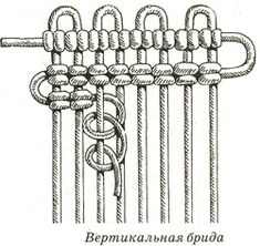 Макраме - узелковое плетение: уроки плетения макраме, плетение узлов: репсовый узел