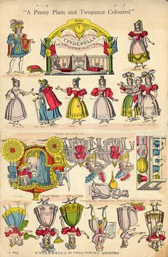 cendrillon theatre p1 by pilllpat (agence eureka), via Flickr - Cinderella