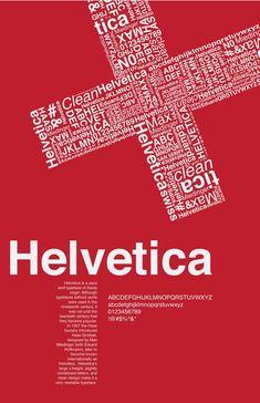 Helvetica Typeface.