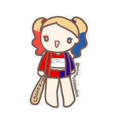 Harley Quinn #minitmintdoodles