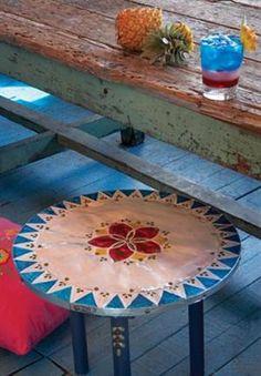 DIY  Bohemian table  TUTORIAL