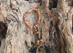 27 Mala Beads, Buddhist prayer beads, meditation mala, hand crafted from organic olive wood by ellenisworkshop on Etsy