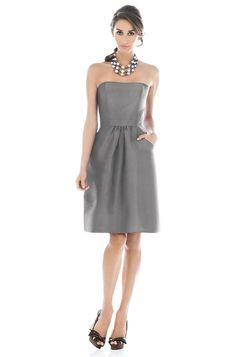 Alfred Sung D508 Bridesmaid Dress | Weddington Way
