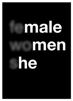 "Design: Ruonan Yan, Poster for Tomorrow ""Gender Equality - this is an example used for my poster for tomorrow project"