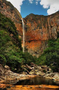 Cachoeira do Tabuleiro - Conceicão do Mato Dentro, Minas Gerais, Brazil