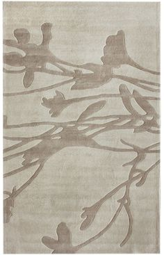 Branches Rug in Beige design by NuLoom Room Rugs, Rugs In Living Room, Plush Area Rugs, Fabric Rug, Shades Of Beige, Rugs Usa, Modern Area Rugs, Hand Tufted Rugs, Contemporary Rugs