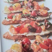 Tomato Crostini with Whipped Feta Recipe - CookEatShare