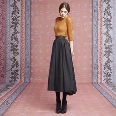 myfashion_diary: Ulyana Sergeenko осень-зима 2013-2014