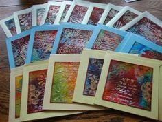 ... Quilts en Art-Textiel Welkom op mijn blog: Nog meer Kerstkaarten