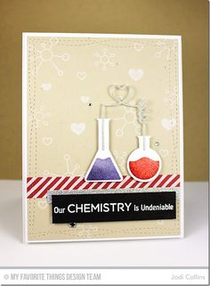 Undeniable Chemistry, Chemistry Set Die-namics, Wonky Stitched Rectangle STAX Die-namics - Jodi Collins  #mftstamps