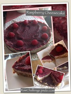 fROHe Himbeertorte Raspberry Cheesecake, Muffin, Breakfast, Challenge, Yummy Cakes, Raspberries, Oven, Easy Meals, Recipes