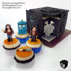 50 Doctor Who themed foods for the 50th anniversary. Although the 50th celebration is technically over now, I'm sure we could find something to do with these… :D