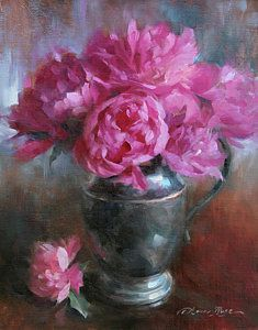 Still Life Painting - June Bouquet by Anna Rose Bain