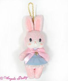 Instant Bunny Set White Pink Ears Headband Collar Tail Halloween OSFM NWT