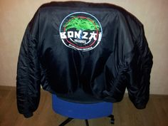 Bonzai Records RARE Bomber Jacket