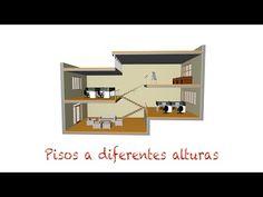 Tutorial Archicad: Pisos a diferentes alturas - YouTube