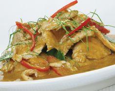 Penang gai (Penang chicken curry)