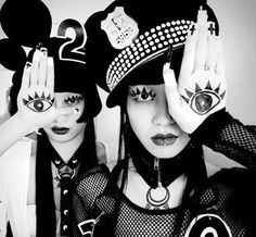 These Japanese dancers are fashion's favourite power couple    http://www.dazeddigital.com/fashion/article/25886/1/these-japanese-dancers-are-fashion-s-favourite-power-couple