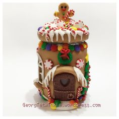 Gingerbread Jar House