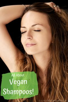 Best vegan shampoos and hair conditioners available. Everything there is to know about vegan shampoos and hair care products. Sls Free Shampoo, Sulfate Free Shampoo, Beauty Tutorials, Beauty Tips, Beauty Hacks, Organic Hair Care, Organic Beauty, Hair Again, Brittle Hair