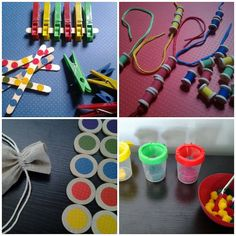 Color Matching Busy Bag Activities Bundle