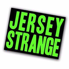 Jersey Strange Sticker