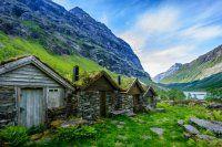 Bellissime fotografie dell'architettura da fiaba in Norvegia